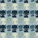 Cute Cats ipad by Mike Taylor