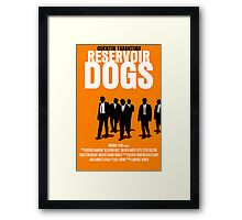 Reservoir Dogs Movie Poster Framed Print