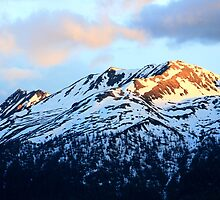 Sunshine on the Mountain Tops by TINESH KALRA