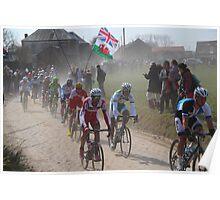 Paris - Roubaix 2013 Classic Cycle Race Poster