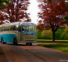 1957 Duple Bodied AEC by David J Knight