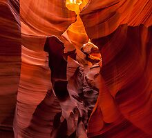 The Faces of the Slot Canyon by Karen Willshaw