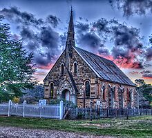 That Old Time Religion - St Paul's Hill End NSW - The HDR Experience by Philip Johnson