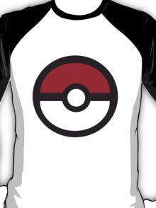 Large Pokeball Sticker. T-Shirt