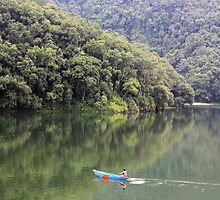 Tranquil Pokhara by Jamie Mitchell