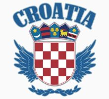Croatia Coat of Arms by GreatSeal