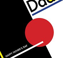 Geometric Happy Father's Day by rperrydesign