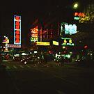 Neon Lights - Lomo by Yao Liang Chua