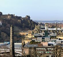 City of Edinburgh from Calton Hill (Panoramic) by Miles Gray