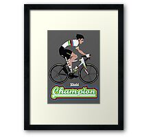 World Champion Cycling Framed Print