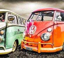 VW campervan's by Ian Hufton
