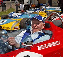 John Surtees at Edenbridge fun day by Keith Larby