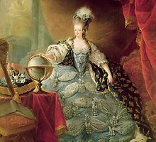 Portrait of Marie Antoinette (1755-93) Queen of France, 1775 (oil on canvas)  by Bridgeman Art Library
