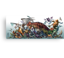 Realistic Pokemon-Season 1 Canvas Print