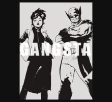 GANGSTA X-MEN (JUBILEE & WOLVERINE) Threshold  by YOUNGTHUNDA