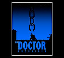 The Doctor Unchained poster parody by bomdesignz