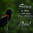 Sing a new song-Psalm 33:3 by vigor