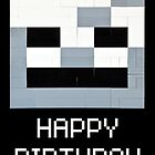 Minecraft Birthday Greeting by Addison