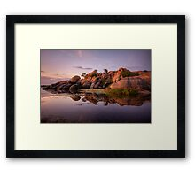 Sun Spread Framed Print