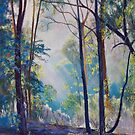 Early Morning Bushwalk by Lynda Robinson