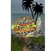 ☝ ☞ LUNCH BEING SERVED ON TURTLE ISLAND IPHONE CASE☝ ☞ by ╰⊰✿ℒᵒᶹᵉ Bonita✿⊱╮ Lalonde✿⊱╮