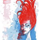Reverie in red, white and blue by Jellyscuds