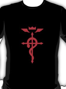 Share Favorite FullMetal Alchemist Flamel Red T-Shirt
