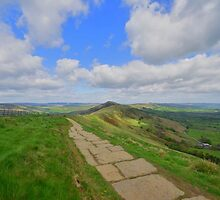 The Peak District: Along the Great Ridge by Rob Parsons