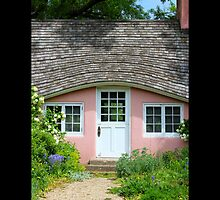 Pink Play House - Planting Fields Arboretum State Historic Park - Upper Brookville, New York by © Sophie W. Smith