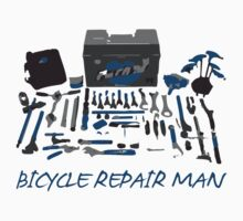 Bicycle Repair Man's Tools by PaulHamon