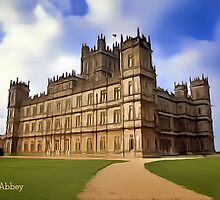 Downton Abbey Digital Art by David Alexander Elder
