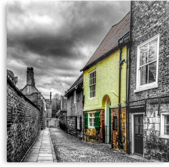 Mews Cottage York by Trevor Kersley
