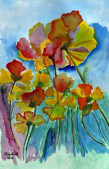 Poppies by Elizabeth Kendall