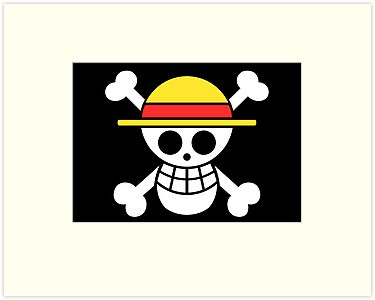 Straw Hat Black Flag by Akuma91