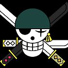 Zoro Black Flag by Akuma91