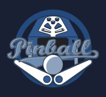 Pinball Logo - Blue by PinMatt