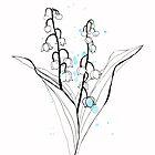 Lily of the valley by Aleksandra Kabakova