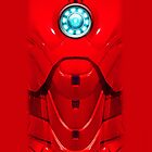 iPhone case - Iron man Body Armor Mark VII Sketch Drawing - Apple iPhone case by beecase