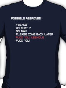 Fuck You, Asshole T-Shirt