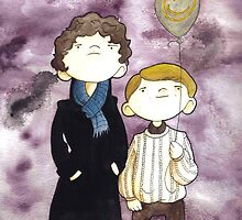 Sherlock and John by Bantambb