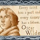 Oscar Wilde quote by Jujudraws