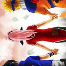 Team 7- Naruto iPhone Case by squidkid