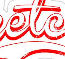 Sketchy red Sticker