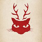 deer cat by Richard Morden