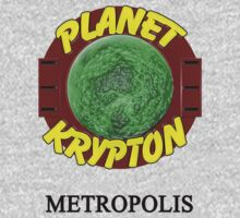 Planet Krypton - Metropolis by herogear