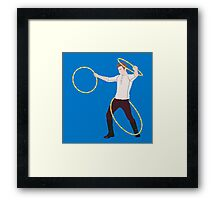 Mamma Mia, Triple Hoop Action Framed Print