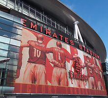 Arsenal FC, Emirates Stadium, London by wiggyofipswich