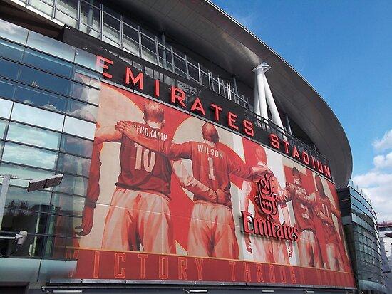 Arsenal FC, Emirates Stadium, London by wiggyofipswich