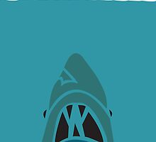 Jaws Movie Poster by creativecamart