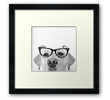 Here's lookin' at you, kid. Framed Print